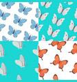 Butterfly seamless pattern summer