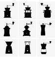 Coffee mill vector image vector image