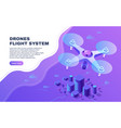 digital entertainment flight drone aerial photo vector image vector image