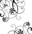 gothic vine vector image vector image