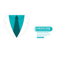 medical and health care concept background doctor vector image vector image