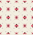 pastel geometrical seamless pattern vector image