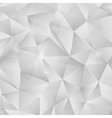 Abstract bright silver metallic pattern from vector image vector image