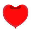balloon icon love and gifts for web on white vector image