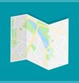 city map navigation vector image vector image