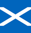 flag scotland saint andrews cross national vector image vector image