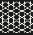 geometric seamless pattern with delicate lattice vector image vector image