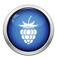 Icon of Raspberry vector image vector image