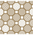 japanese style tile seamless pattern vector image vector image