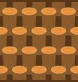 log seamless pattern wooden billet background vector image