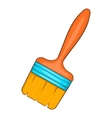 Paint brush icon cartoon style vector image vector image