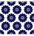 porcelain flower pattern vector image vector image