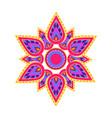 spiritual symbol mandala vector image vector image