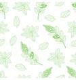 tea pattern-03 vector image