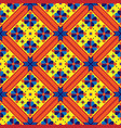 bright geometrical seamless pattern vector image