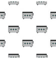 cd player pattern seamless vector image vector image