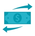 Funds Transfer Icon vector image vector image
