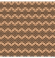 Geometric ethnic aztec mexican seamless pattern vector image