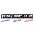 grunge friday best sale exclamation scratched vector image vector image