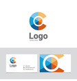 logo design element 18 vector image vector image