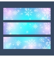 modern happy new year set banners vector image
