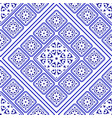 porcelain pattern decorative vector image vector image
