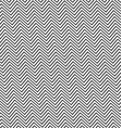 Black and white angular zig zag line pattern vector image vector image