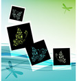 collage design insert your photos vector image vector image