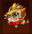 day of the dead mexico vector image vector image