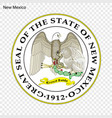 emblem of state vector image
