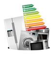 home appliances consumption vector image