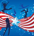 independence day dance vector image vector image