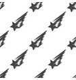 shooting star seamless pattern vector image vector image