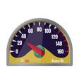 speedometer iconcartoon icon vector image vector image