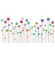 spring background with space for a text vector image vector image