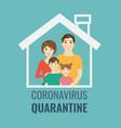 stop coronavirus banner isolated green background vector image vector image