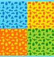 transport blue seamless patterns vector image