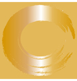 abstract gold background vector image vector image