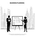 Business Plan Presentation vector image