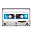 cassette tape isolated vector image vector image