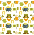 flat seamless pattern for StPatricks day vector image vector image