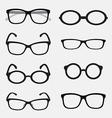 group an glasses vector image