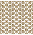 japanese shapes seamless pattern in gold vector image vector image