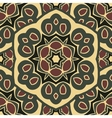 Seamless ornament boho-chic vector image