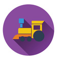 Train toy icon vector image