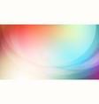 abstract blurred colorful background with curved vector image