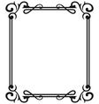 Blank frames vector image vector image