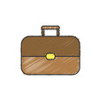 business suitcase to save important document vector image vector image
