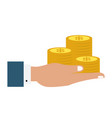 coin money icon image vector image