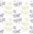 Hand drawn perilla herb branch wirh flowers vector image vector image